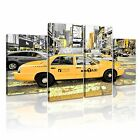 NEW YORK Manhattan Yellow Cab Taxi Canvas Framed Print 26 ~ More Size