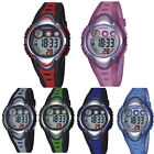 Fashion Kids Watch Sports Watch Digital Silicone LED Waterproof Alarm Stopwatch