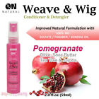 ON Natural Weave & Wig Leave-In Conditioner & Detangler 2oz [Pomegranate]