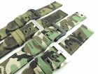 22mm Camouflage Canvas Strap Band Sports Army wristband Military multicolored