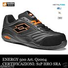 SCARPE ANTINFORTUNISTICHE LOTTO WORKS ENERGY 500 Q2004 S1P SRA HRO NERA