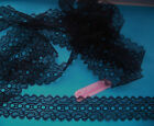 Eyelet Knitting Lace    20 m x 35 mm (Various Colours)