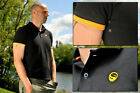 Guru New Polo Shirts Black *Course Carp Fishing* All Sizes