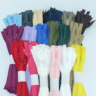 5 x Trebla Size 3 Nylon Closed End Autolock Zips