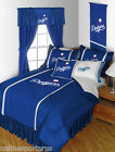 Los Angeles Dodgers Comforter and Sheet Set Twin Full Queen King Size