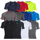 WOW!! UNDER ARMOUR 1257468 HG Compression Armour Shortsleeve Tee Shirt Shirts