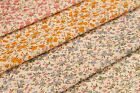 SMALL FLOWERS DESIGN 3 - PRINTED POLY COTTON FABRIC - WIDTH 114 CM
