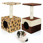 Kitten Cat Tree Scratcher Scratching Post Sisal Toy Activity Centre Bed Single