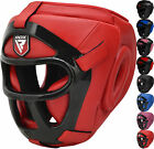 RDX Detachable Bar Head Guard Helmet Boxing Martial Arts Gear MMA Protector Kick