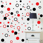 Circles Polka dot 2 colour ways Removable wall stickers for Kids room / Nursery