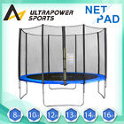 Trampoline Safety Net Spring Cover Padding Jumping Mat 6 8ft/10ft/12ft/13ft/14ft