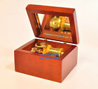 Classic Japan Golden Movement Wood Sankyo Kimiwo Nosete Musical Box