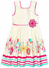 Girls Baby Floral Printed Dress New Kids Summer Dresses New Ages 6-24 Months