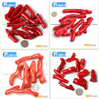 Freeform Branch Gemstone Red Coral Jewelry Making Stone Loose Beads