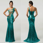 Womens Long Sexy Masquerade Formal Ball Cocktail Prom Party Evening Gown Dresses