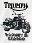 Triumph Rocket III Roadster T shirt  Gift  S, M, L, XL, 2XL, 3XL, 4XL, 5XL $15.95 USD on eBay
