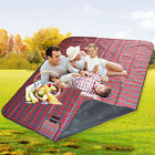 Extra Large Waterproof Picnic Blanket Rug Travel Outdoor Beach Camping Fleece