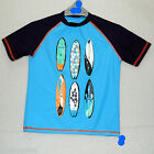 New Boys Sun UV Protection Tee T Shirt Top Age 6-14 Years