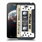 OFFICIAL 1D CASSETTES MIDNIGHT MEMORIES HARD BACK CASE FOR LENOVO A859