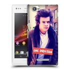 OFFICIAL ONE DIRECTION HARRY PHOTO FILTER HARD BACK CASE FOR SONY XPERIA M C1904