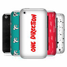 OFFICIAL ONE DIRECTION 1D LONGFORM LOGO HARD BACK CASE FOR APPLE iPHONE 3GS