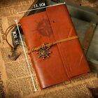 New Handmade Travel Bound Retro Leather Cover Notebooks Journals Diary book UK1