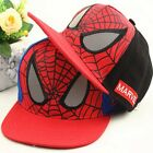 New boys kids Marvel Spiderman Baseball Caps Snapback Hat sun hat Caps