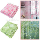 Romantic Pastoral Style Floral Flowers Tulle Voile Sheer Window Room Curtain New