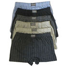 3 x Mens Cotton Blend Button Fly Jersey Boxer Shorts Underwear Big King Plus