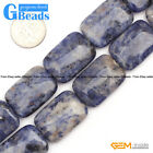 18x26mm Assorted Stones Rectangle Beads For Jewelry Making Free Shipping 15*