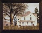 GRANDMA'S HOUSE by Billy Jacobs 22x28 FRAMED PICTURE Tree Tire Swing Fence