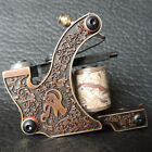 Pro Brass Engraving Tattoo Machine Gun Shader Liner with 12 wrap coils Supply