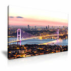 TURKEY Bosphorus Bridge Istanbul Canvas Wall Art Picture Print ~ More Size