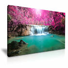Thailand Waterfall Landscape Canvas Wall Art Picture Print ~ More Size