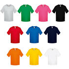 Boys Fruit Of The Loom Cotton-Blend Crew Neck Short Sleeve T-Shirt Age 3/4-14/15