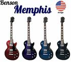 Brand New Full Size Benson Memphis LP electric guitar package (USA design)
