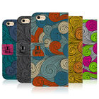 HEAD CASE VIVID SWIRLS LEATHER BOOK WALLET CASE COVER FOR APPLE iPHONE PHONES