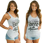 Sexy Women Sleeveless Blouse Letter Printed Vest Tank Top Casual Summer T-Shirt