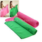 Soft Fiber Sports Beach Gym Swimwear Shower Bath Sheet Towel Drying Washcloth
