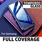 Full Cover Tempered Glass Screen Protector Samsung Note 8 S9 S8 Plus S7 Edge S6