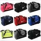 Nike Brasilia S Grip Bag Holdall Duffel Gym Sports Overnight School Bag OZ STOCK