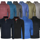 Mens Sweater Jumper Crew Neck Stallion Knitted Long Sleeve Tops Designer New