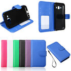 Flip Leather Wallet Card Holder Cover Case Stand For Samsung Galaxy J1 J100F/H/M