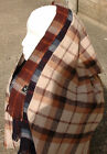 Womens Mens / Unisex Checked Pattern Long Supersoft Scarf with Fringes