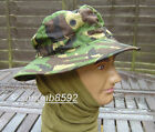 UK S95 BRITISH ARMY SURPLUS ISSUE G1 WOODLAND DPM CAMOUFLAGE BUSH HAT,BOONIE CAP
