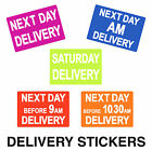 Courier Labels / Stickers - Next Day AM Before 9am