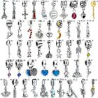 European Charms Crystal Cute Pendant Beads Fit New 925 Sterling Silver Bracelets