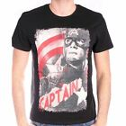 Avengers Age of Ultron T-Shirt Captain America street poster licence officielle