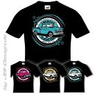 Burnout Coyote T-Shirt Schwarz US Car Farbwahl 1956 3100 Pickup Oldtimer chevy