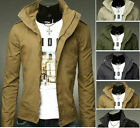 Korean Fashionable Men's Classic Collar Coats Hot Sell Vintage Casual Jacket New